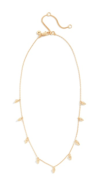 Madewell Delicate Tiny Shell Necklace