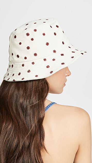 Madewell Embroidered Bucket Hat