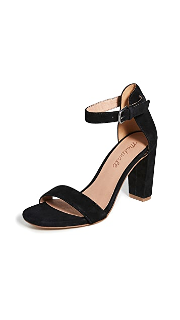 Madewell The Tess Block Heel Sandals