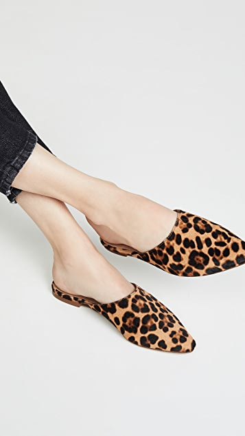 Madewell The Remi Point Toe Mules