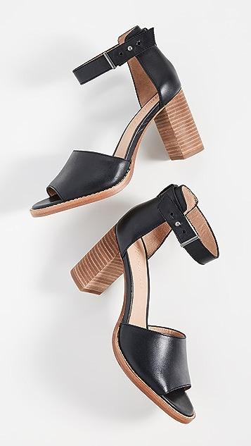 Madewell The Carli Heritage Block Heel Sandals