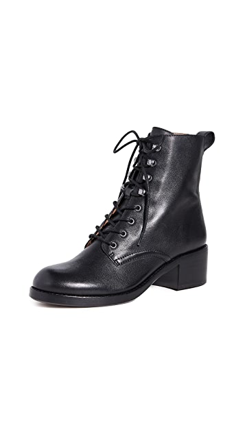 Madewell Pattie Lace Up Boots