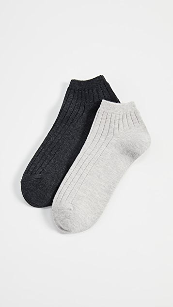 Madewell Ribbed Ankle Socks