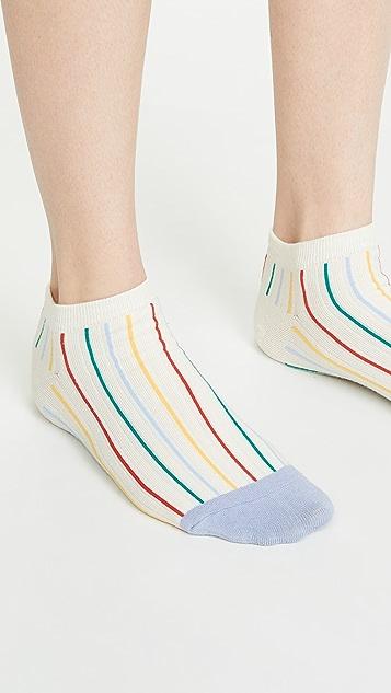 Madewell Набор из двух пар носков до щиколоток с цветочным рисунком в стиле ретро