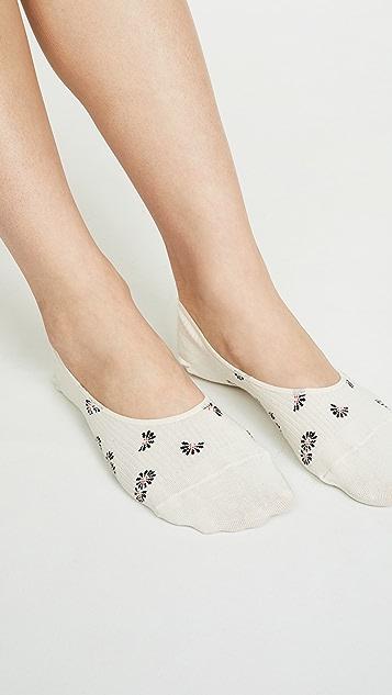 Madewell Комплект из двух пар невидимых под обувью носков Bandana Daisy
