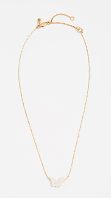Madewell Butterfly Pendant Necklace