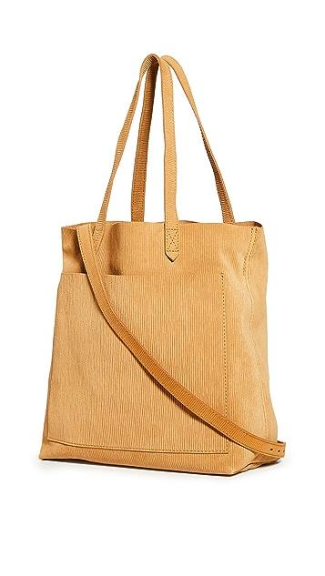 Madewell Объемная сумка с короткими ручками среднего размера Transport