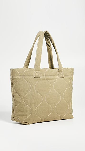 Madewell Quilted Transport Tote Bag