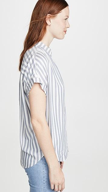 Madewell Рубашка с застежкой на пуговицы по центру