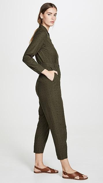 Madewell Polka Dot Utility Jumpsuit