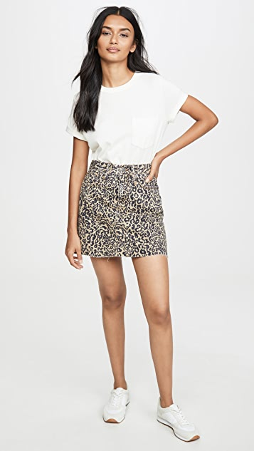 Madewell Frisco Rigid A Line Skirt