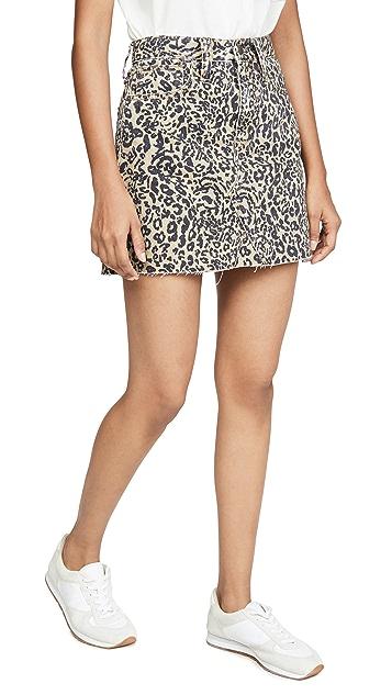 Madewell Жесткая юбка-трапеция Frisco