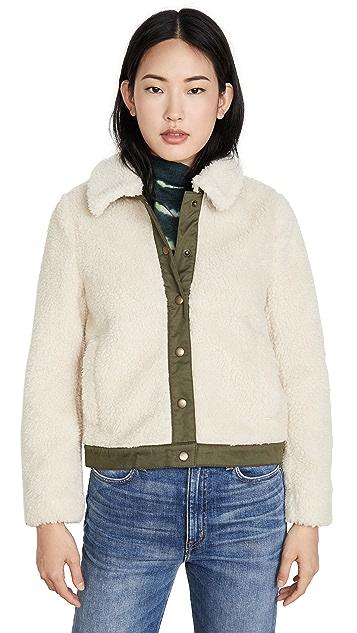 Madewell Updated Sherpa Portland Jacket