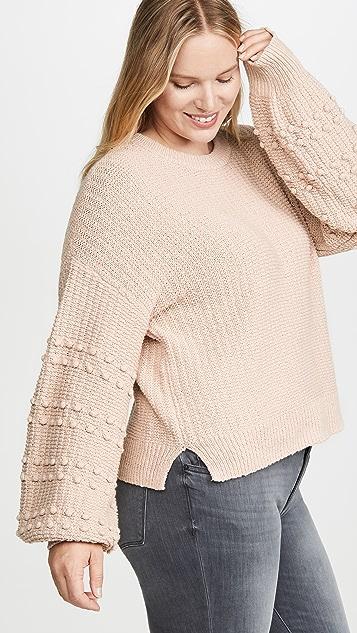 Madewell Sycamore Bobble Balloon Sleeve Sweater