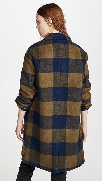 Madewell Updated Monsieur Wool Coat