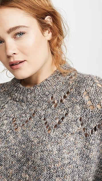 Madewell Ажурный свитер Redwood