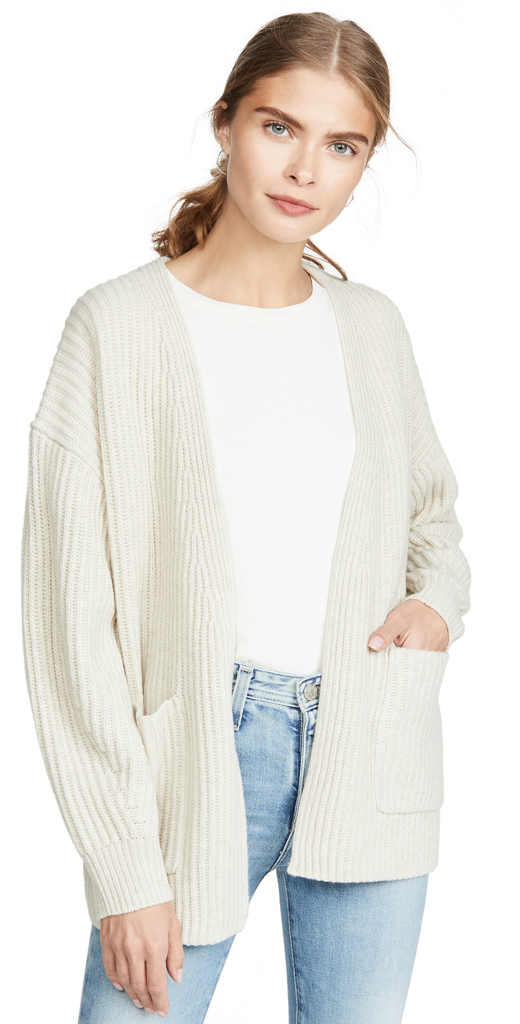 Madewell Walnut Rib Stitch Sweater