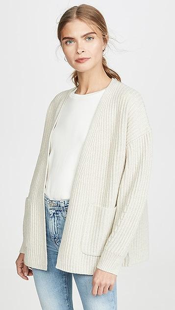Madewell Walnut Rib Stitch Sweater