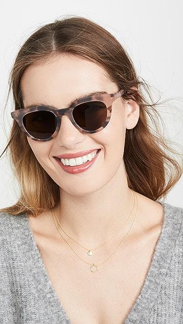 Madewell Солнцезащитные очки Annie Winged