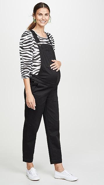 Madewell Комбинезон для беременных с прямыми брючинами