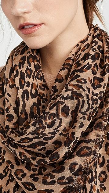 Madewell Leopard Scarf