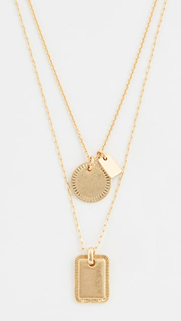Madewell Keaton Layer Necklace