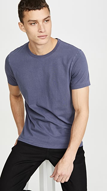 Madewell Garment Dyed All Day Crew Neck Tee