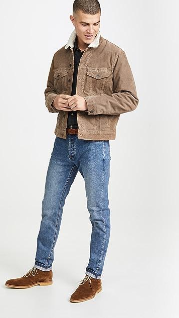 Madewell Corduroy Sherpa Jacket