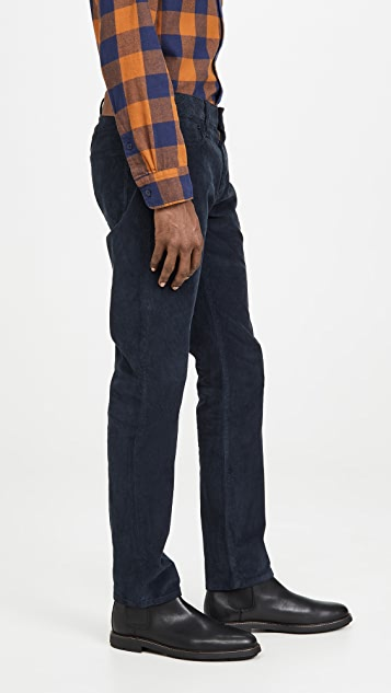 Madewell Slim Corduroy 5 Pocket Pants