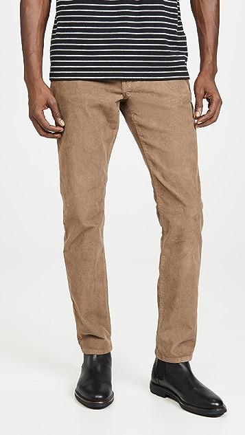 Madewell Slim Corduroy 5 Pocket Pants