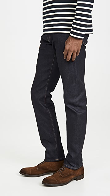 Madewell Slim Slevedge Jeans in Resin Rinse