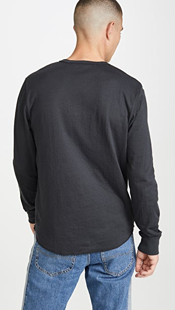 Madewell Duo Fold Long Sleeve Henley