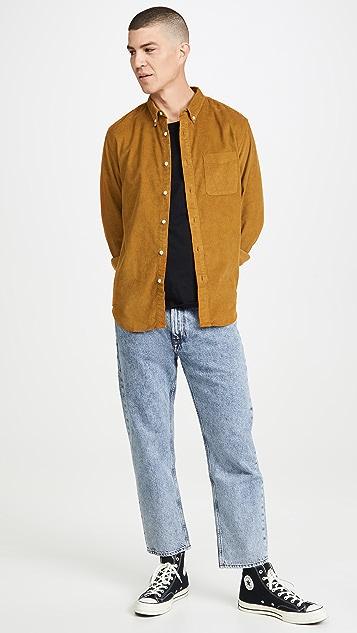 Madewell Mid Wale Corduroy Shirt