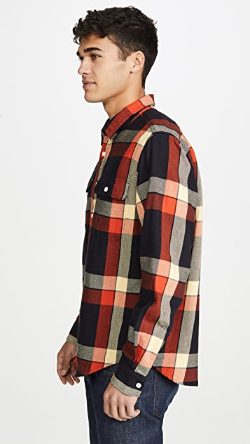 Madewell Large Scale Plaid Flannel Shirt