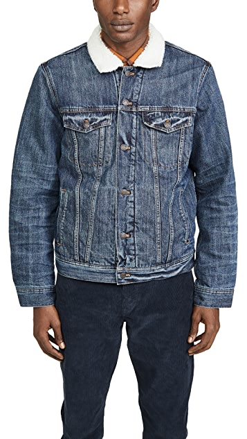Madewell Sherpa Denim Jacket