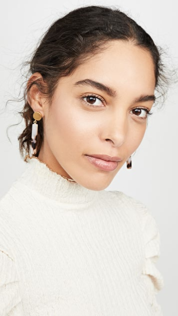 Madewell Ali Acetate Earrings