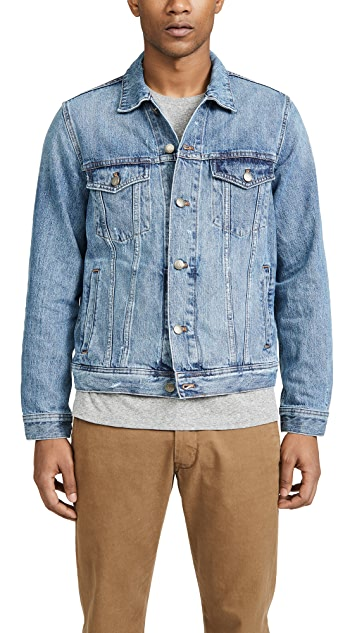Madewell Classic Denim Jacket In Light Wash