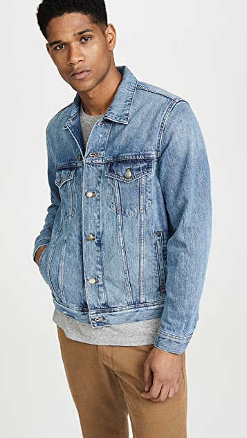 Madewell Classic Denim Jacket In Light Wash