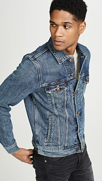 Madewell Classic Denim Jacket In Medium Indigo