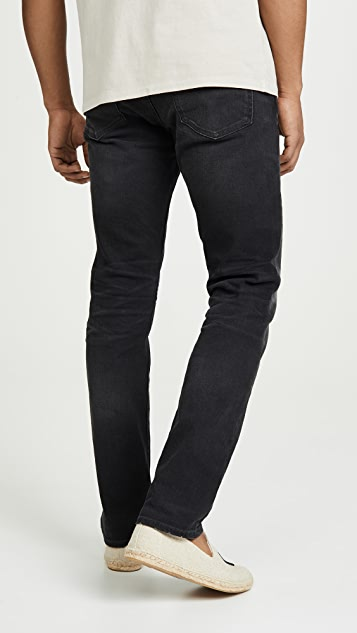 Madewell Slim Jeans In Washed Black
