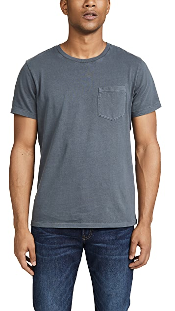 Madewell Crew Neck T-Shirt with Pocket