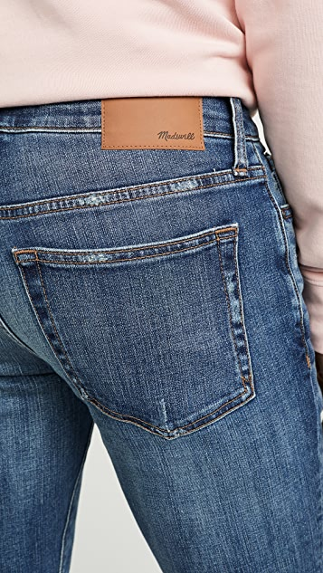 Madewell Skinny Jeans In Comfort Stretch