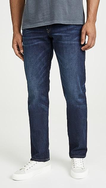 Madewell Straight Leg Jeans In Medium Indigo