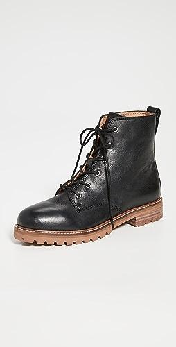Madewell - Levi 系带靴子