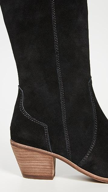 Madewell Greta 西部风格高筒靴