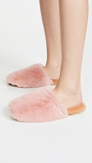 Madewell 皮毛便鞋