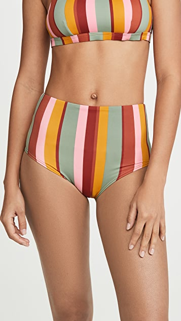 Madewell Morgan High Waisted Bikini Bottoms
