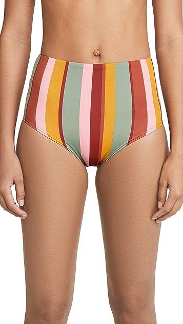 Madewell Morgan High Waisted Bikini Bottoms