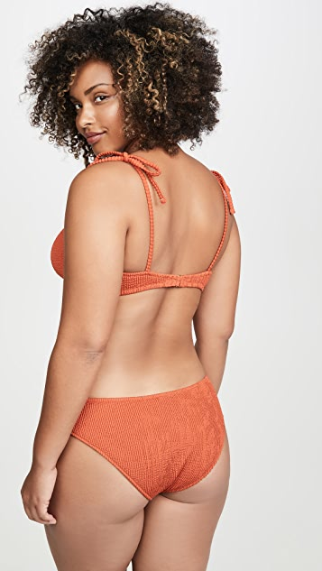 Madewell Lexi Shoulder Tie Bikini Top