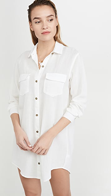 Madewell Sara Shirtdress